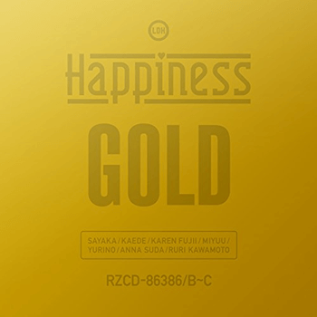 GOLD(2DVD付)(初回生産限定盤) Happiness