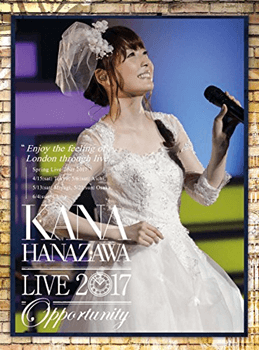 "live 2017""Opportunity""(初回生産限定盤) 花澤香菜"