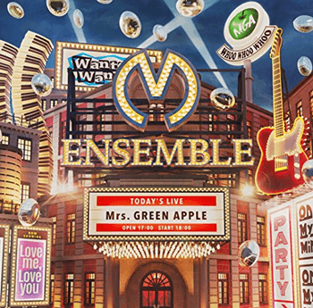 ENSEMBLE (初回限定盤) Mrs.GREEN APPLEの画像